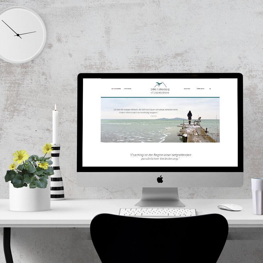 Eine Seite für Silke Falkenberg – Life & Business Coach