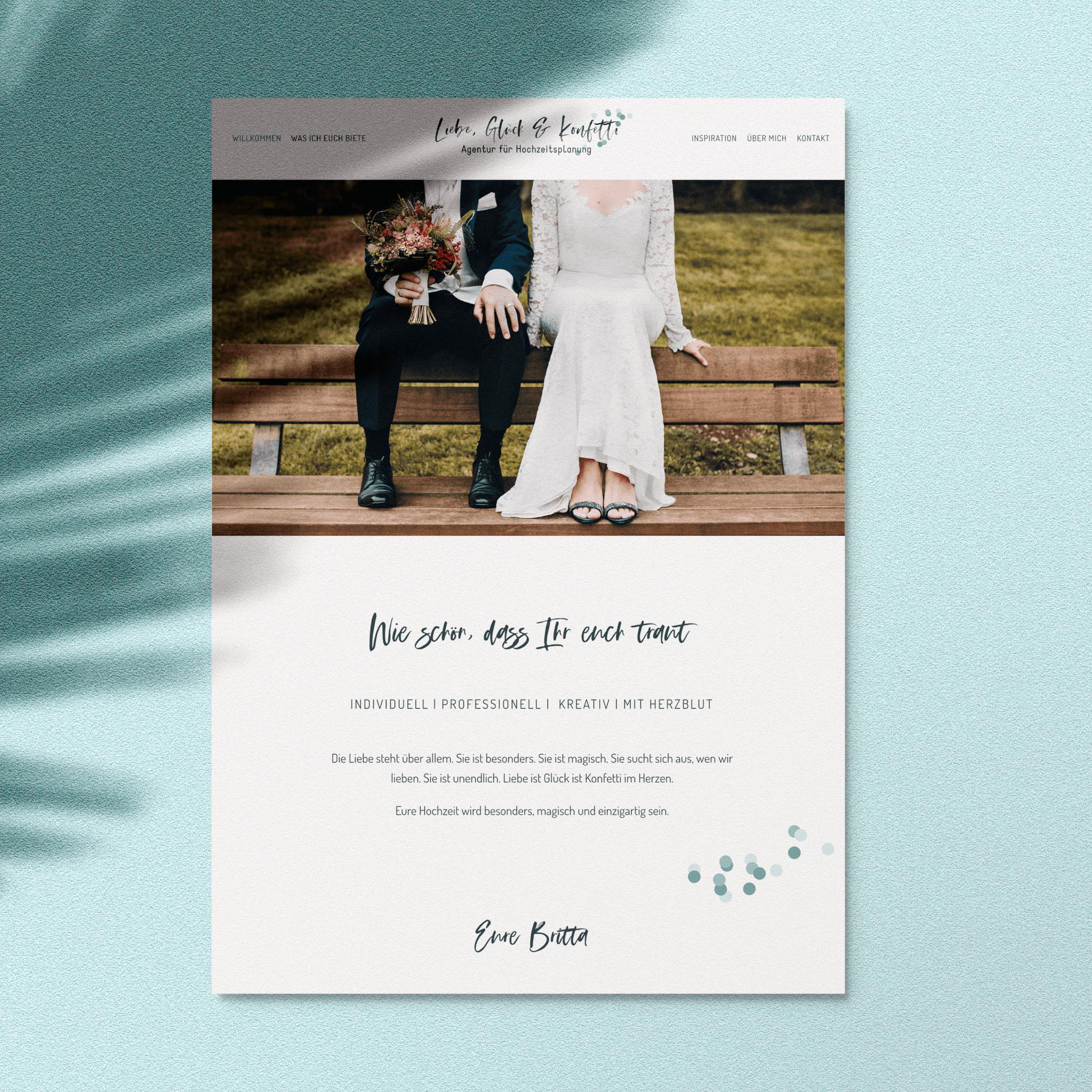 Liebe, Glück & Konfetti – Die Hochzeitsagentur